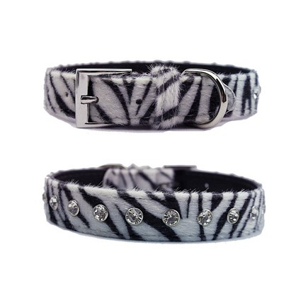 Hundhalsband animal print