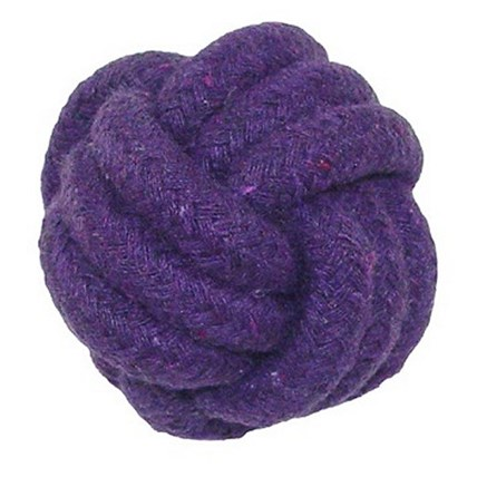 Knot Tuff Ball 5 cm Purple