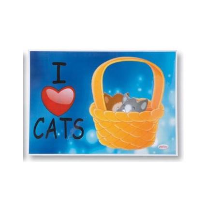 Matskåls underlägg katt Korg