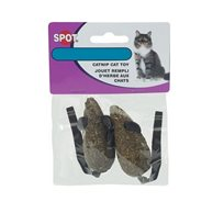 Kattleksak Cat Nip Candy Mice 2-pack
