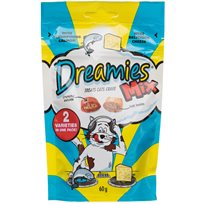 Dreamies Mix Cat Treats - Lax & ost