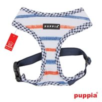 KATTSELE PUPPIA SOFT HARNESS ORANGE NAVY S