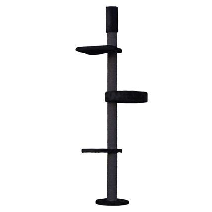 Kattens No 1 Eiffel All in black, Svart, 30cm förlängning+halkskydd (189kr+79kr