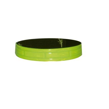 Katthalsband reflex resår Gul, 22,5 cm