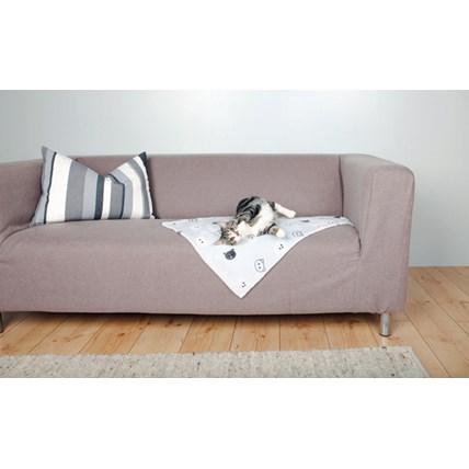 Mimi filt, 70 × 50 cm, grå