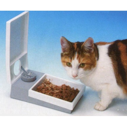 foderautomat katt timer
