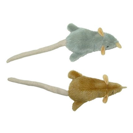 Kattleksaker Mice with Squeaker