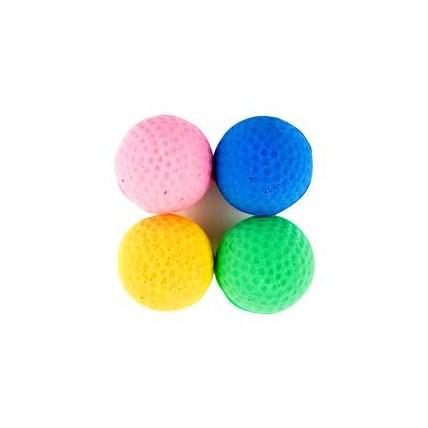 Kattleksak Skum gummiboll Mix