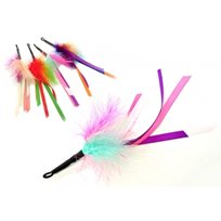 Purrs Feather Ribbon Attachment