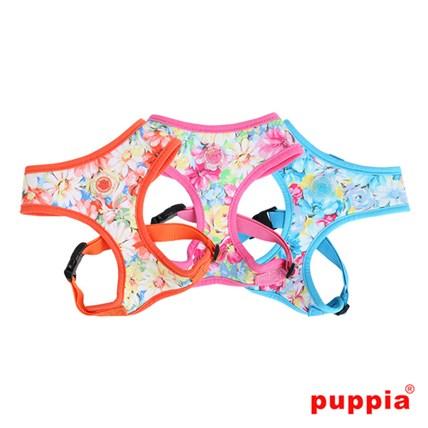 PUPPIA - SPRING GARDEN HARNESS S, Rosa