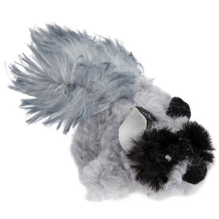 Kattleksak Backyard Raccoon Play-n-Squeak