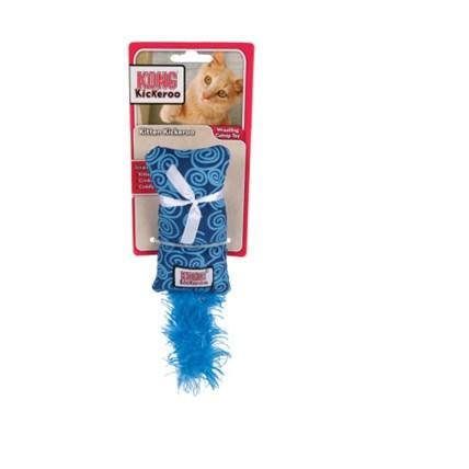 Kattleksak Kickeroo kitten Blå
