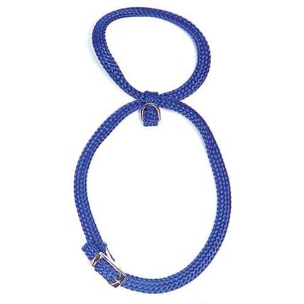 Kattsele 8 nylon blå