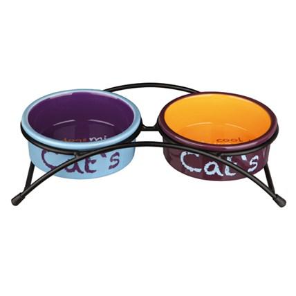 Matbar m Keramikskålar