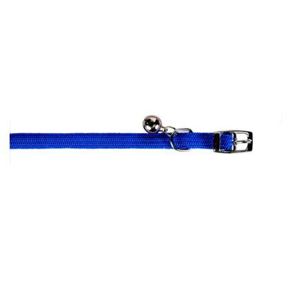 Katthalsband elastiskt Trixie blå
