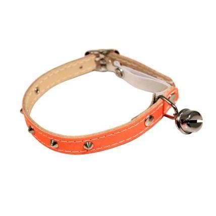 Katthalsband Nitar med helreflex Orange