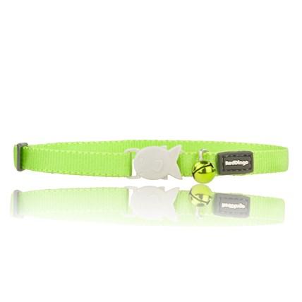 Kattungehalsband RedDingo ljusgrön