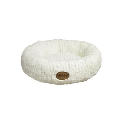 Kattbädd Nova Donut 45cm Benvit