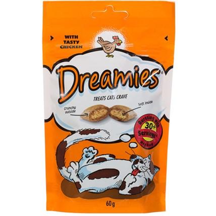 Dreamies kattgodis kyckling