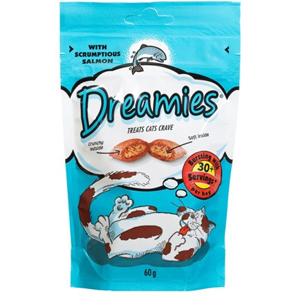 Dreamies kattgodis Lax