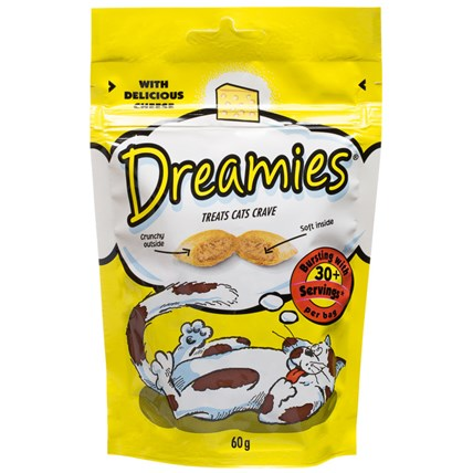 Dreamies kattgodis Ost