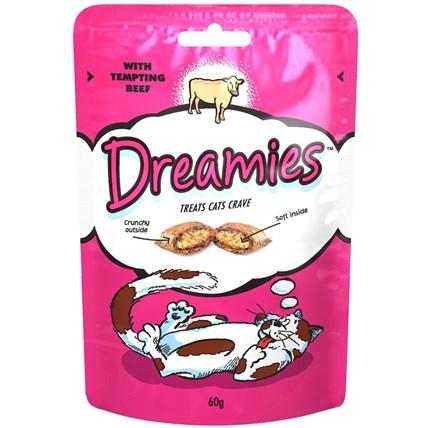Dreamies kattgodis nötkött