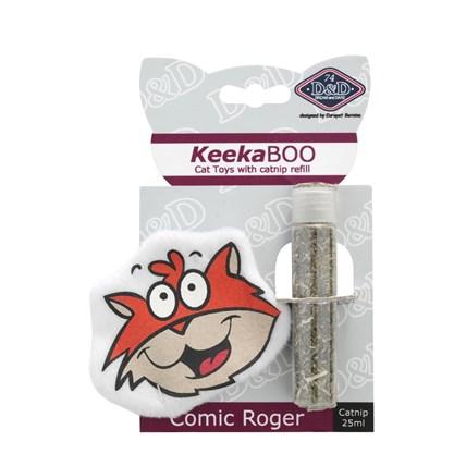 Kattleksak KeekaBOO Comic Roger
