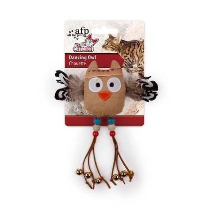 Kattleksak Dreams Catcher Dancing Owl 2601