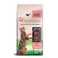 Kattfoder Applaws katt Adult Chicken with extra Salmon 2KG