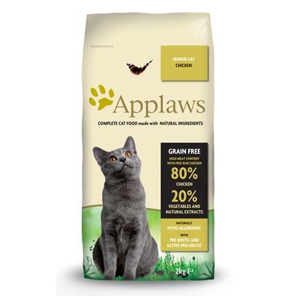 Kattfoder Applaws katt Adult Chicken Senior 2KG