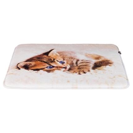 Tilly kattdyna 50 × 40 cm beige