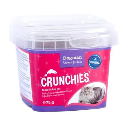 Kattgodis Dogmans Crunchies lax