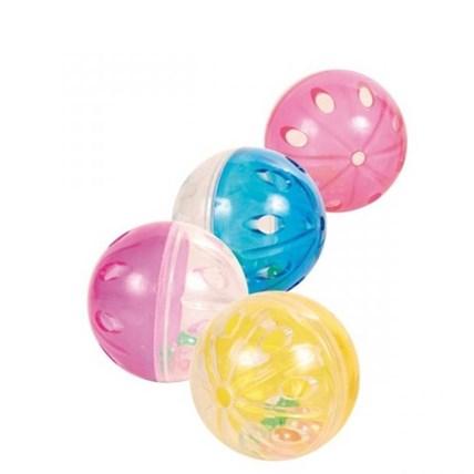 Kattleksak Plastboll med skrammel