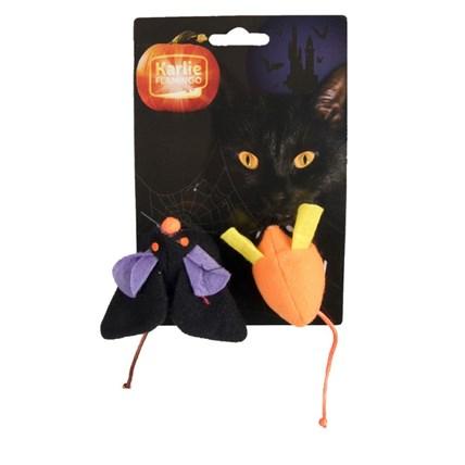 Kattleksaker Halloween möss 2-pack