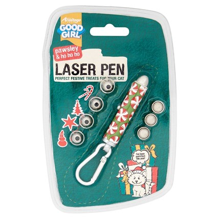 Laserpekare med 4 olika julmotiv