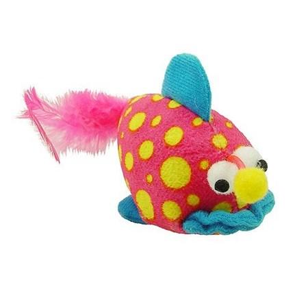 Kattleksak Prickiga fisken med kattmynta