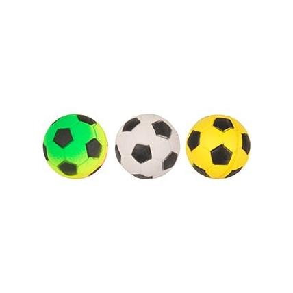 Kattleksak Fotboll hårdskumgummi 4cm
