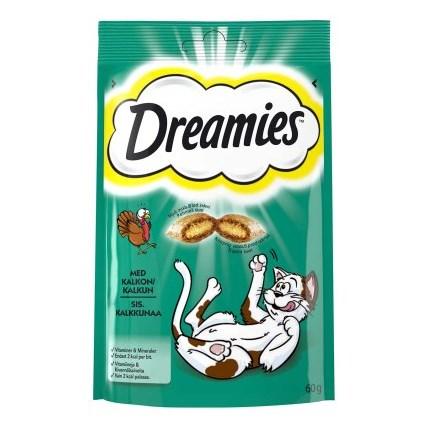 Dreamies kattgodis Kalkon
