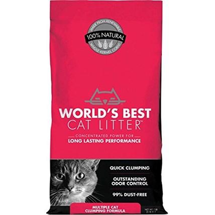 Worlds Best Cat Litter extra strength kattsand 6,35kg