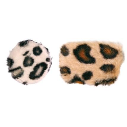 Kattleksaker Prasselkuddar Safari 2-pack