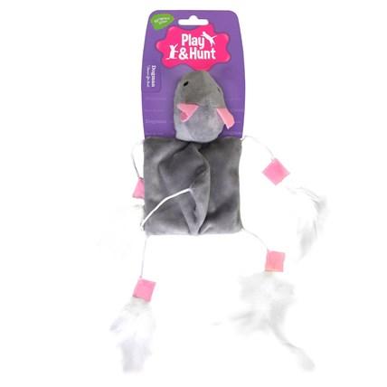 Kattlek Stor mus med fjädrar