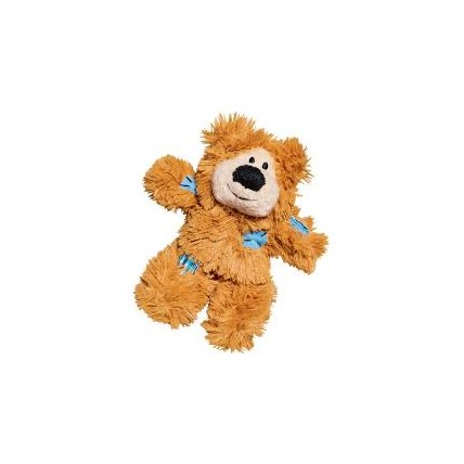 Kattleksak Softies Patchwork Bear Brun