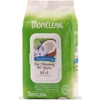 TROPICLEAN EAR CLEANING WIPES 50ST