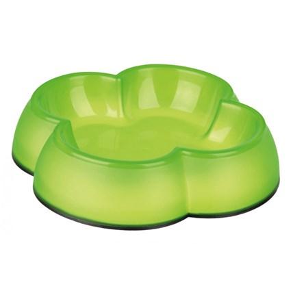 Matskål i plast, 0,25l Grön
