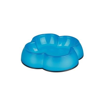 Matskål i plast, 0,25l Blå