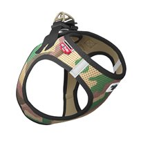 Curli Vest Harness Air Camo Grön