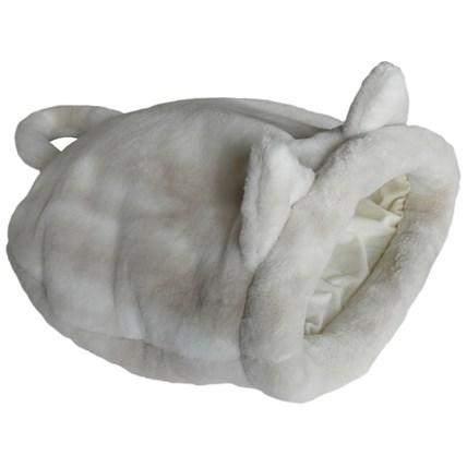 Tittut kattsäck vit