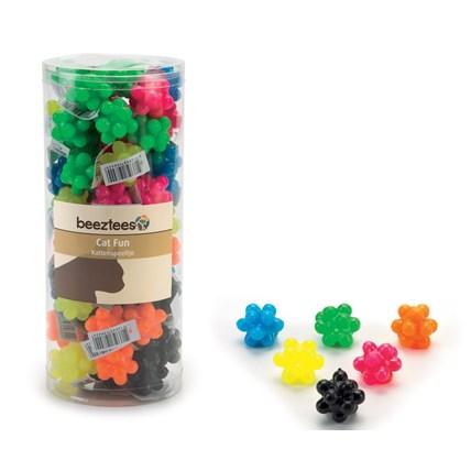 Kattleksak Bubbelboll i mixade färger