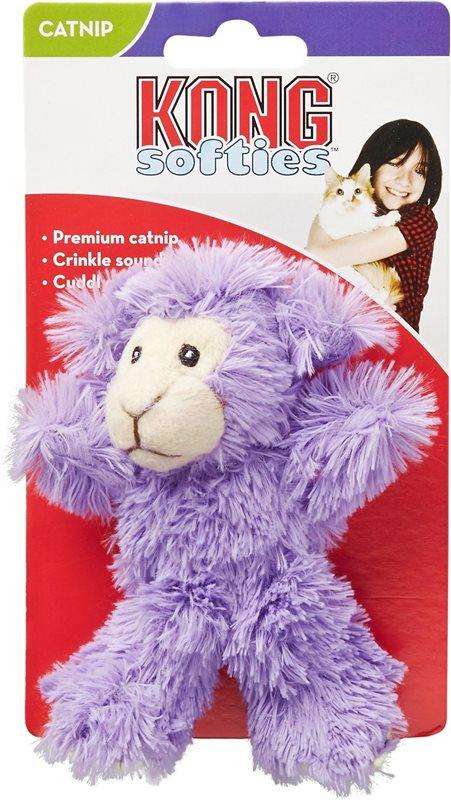 Kattleksak Kong Softies Lamb Lila - Kattkompaniet.nu 32a610c0f4d2a