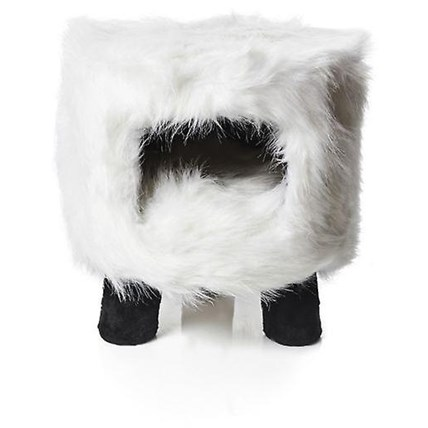 Möbel Kattens no 1Heubii Fluffy vit